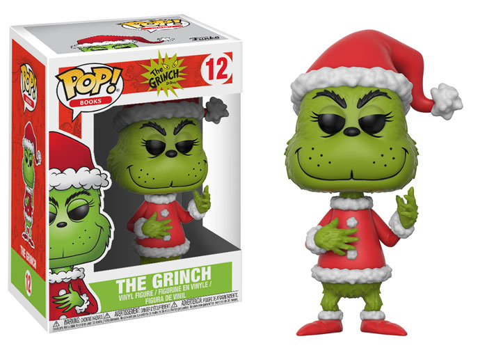 Pop ! Books 12 - The Grinch - The Grinch
