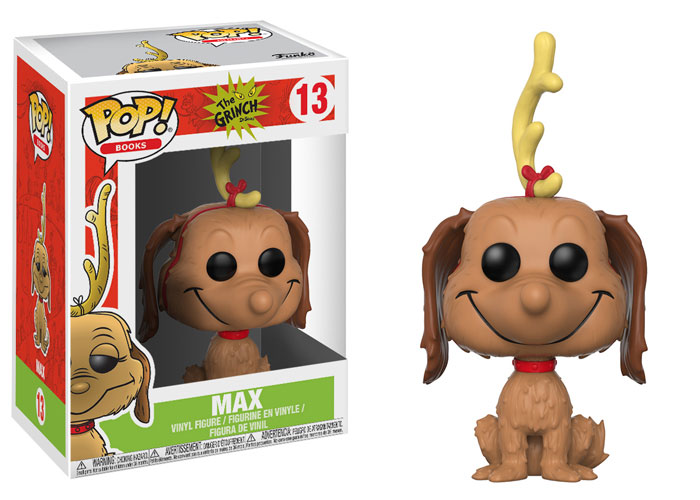 Pop ! Books 13 - The Grinch - Max