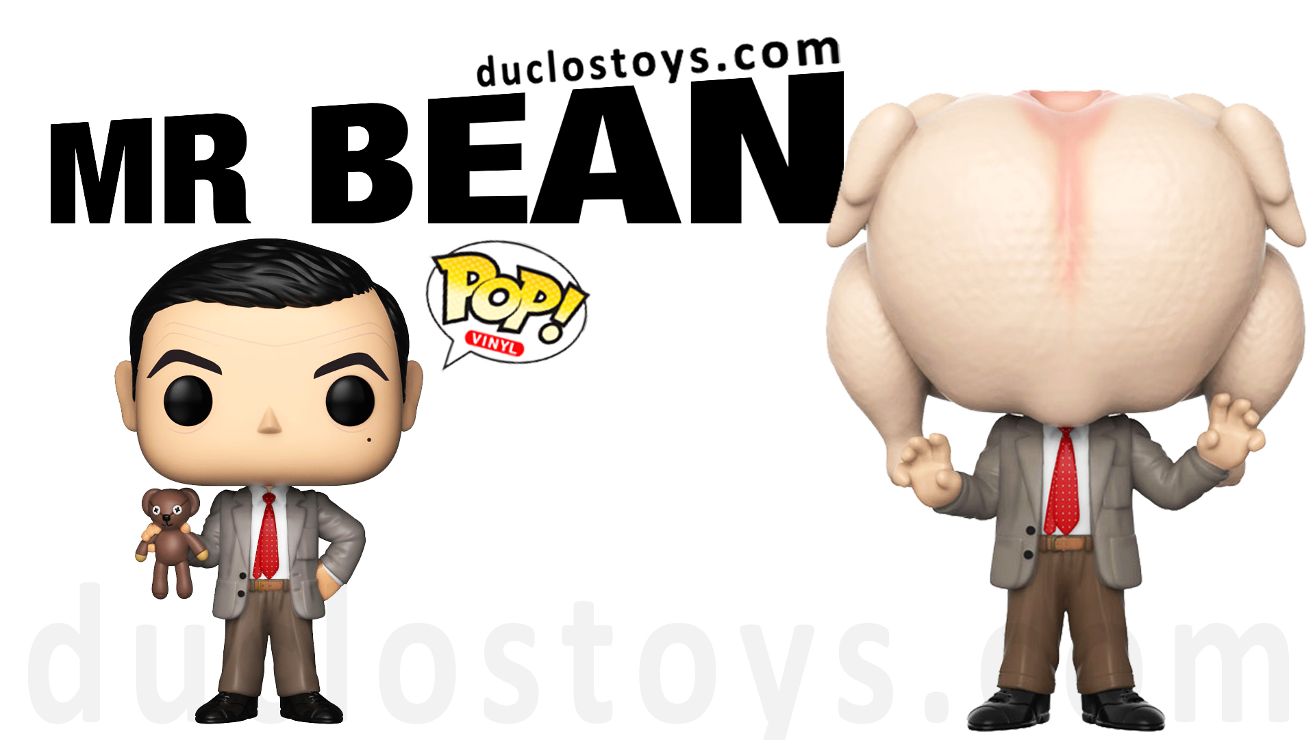 Duclos Toys - Funko Pop Television - Mr. Bean