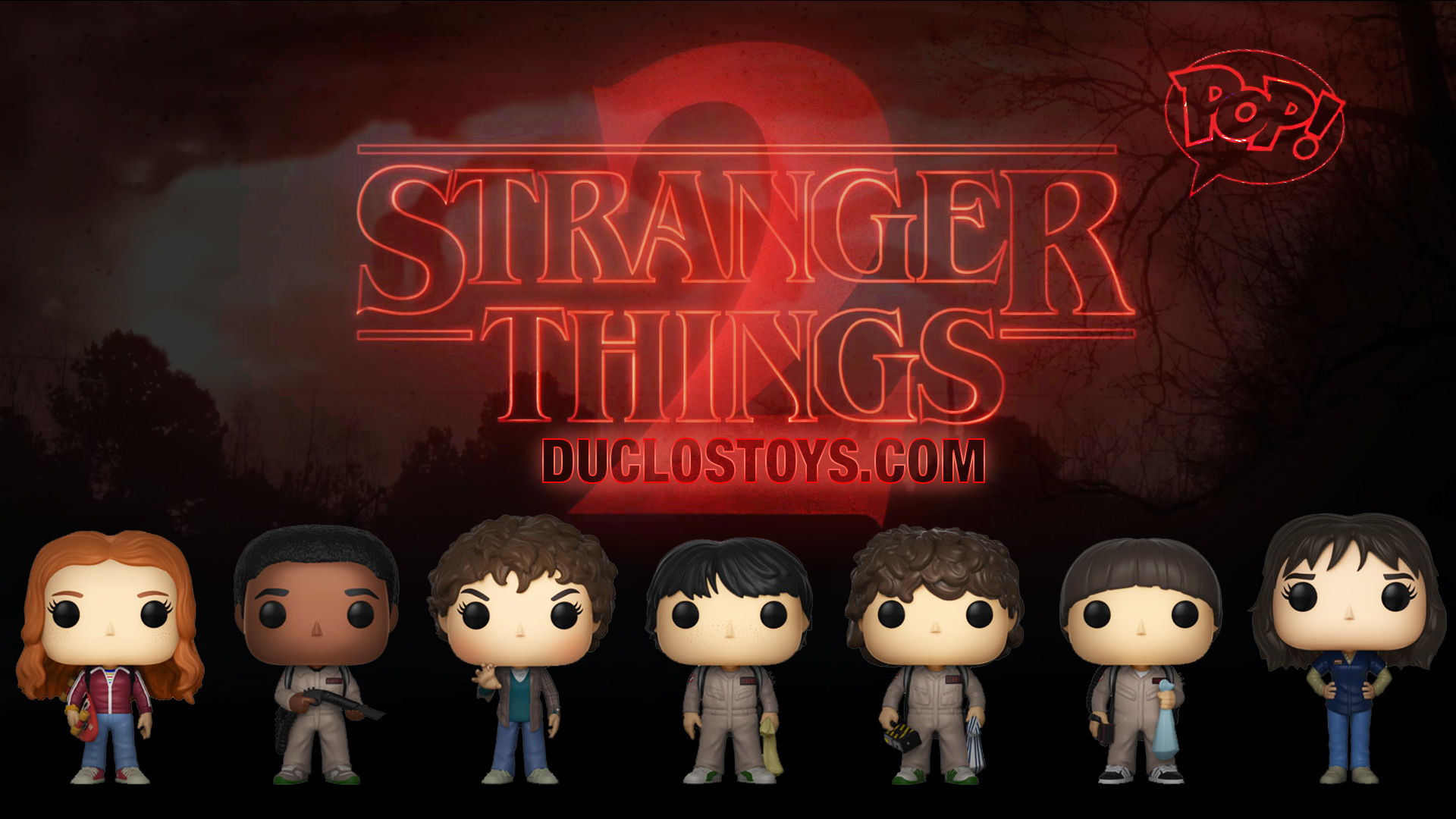 ca7781f897f Select your Funko Pop ! Television – Stranger Things (Season 2) figures