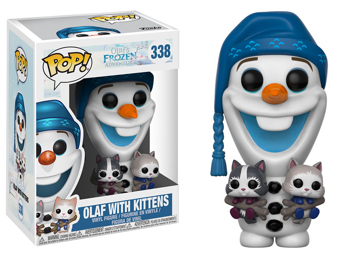 Funko Pop ! Disney 338 - Olafs Frozen Adventure - Olaf with kittens