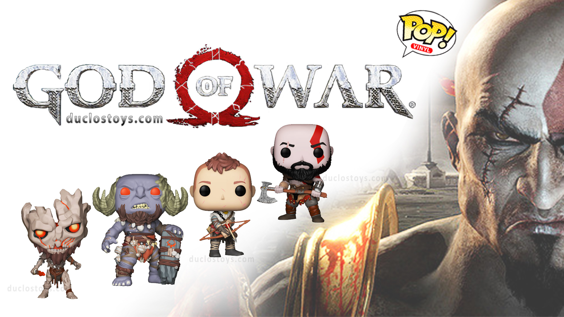 Duclos Toys Funko Pop Games God Of War