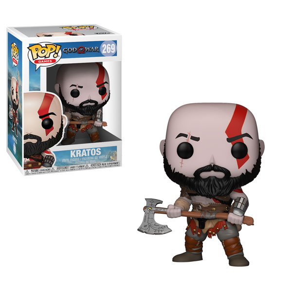 Funko Pop ! Games 269 - God of War - Kratos with Axe