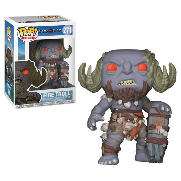 Funko Pop ! Games 271 - God of War - Fire Troll