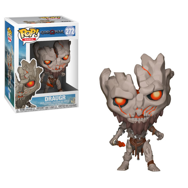 Funko Pop ! Games 272 - God of War - Draugr