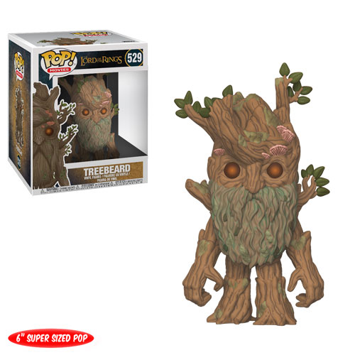 Funko Pop ! Movies 529 - Lord of the Rings - Treebeard (6 Inch Super Size Pop)