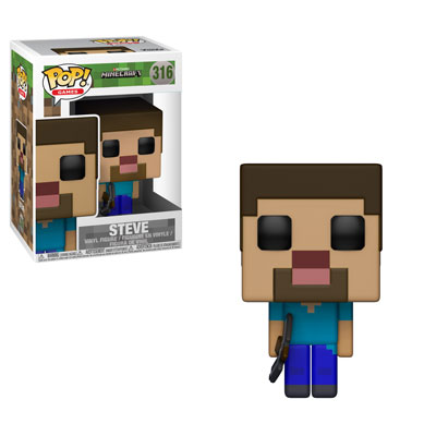 Funko Pop ! Games 316 - Minecraft - Steve