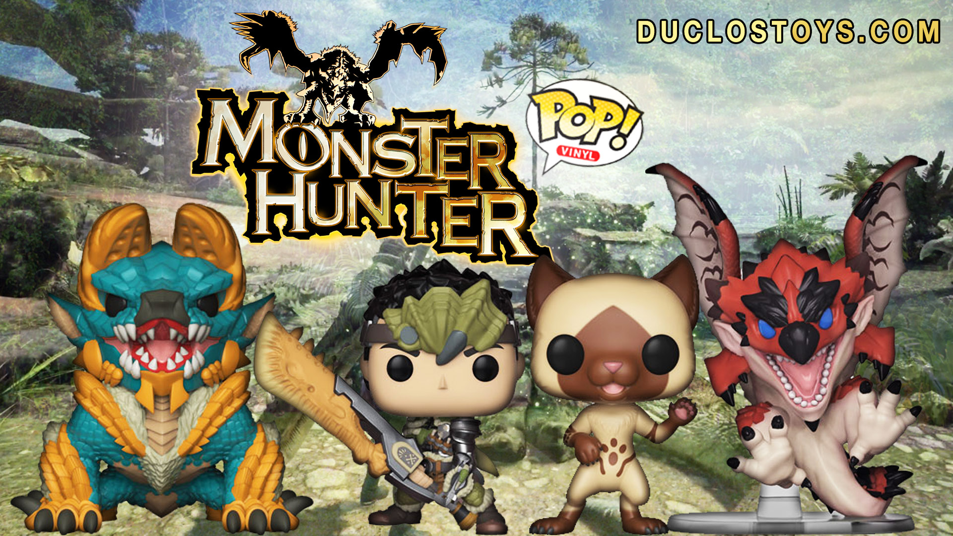 Duclos Toys Funko Pop Games Monster Hunters