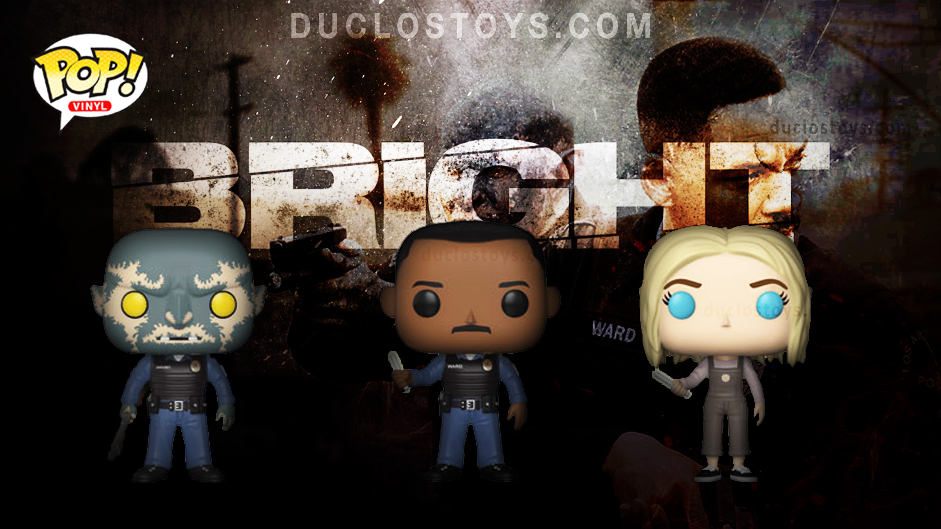 Duclos Toys Funko Pop Movies - Bright