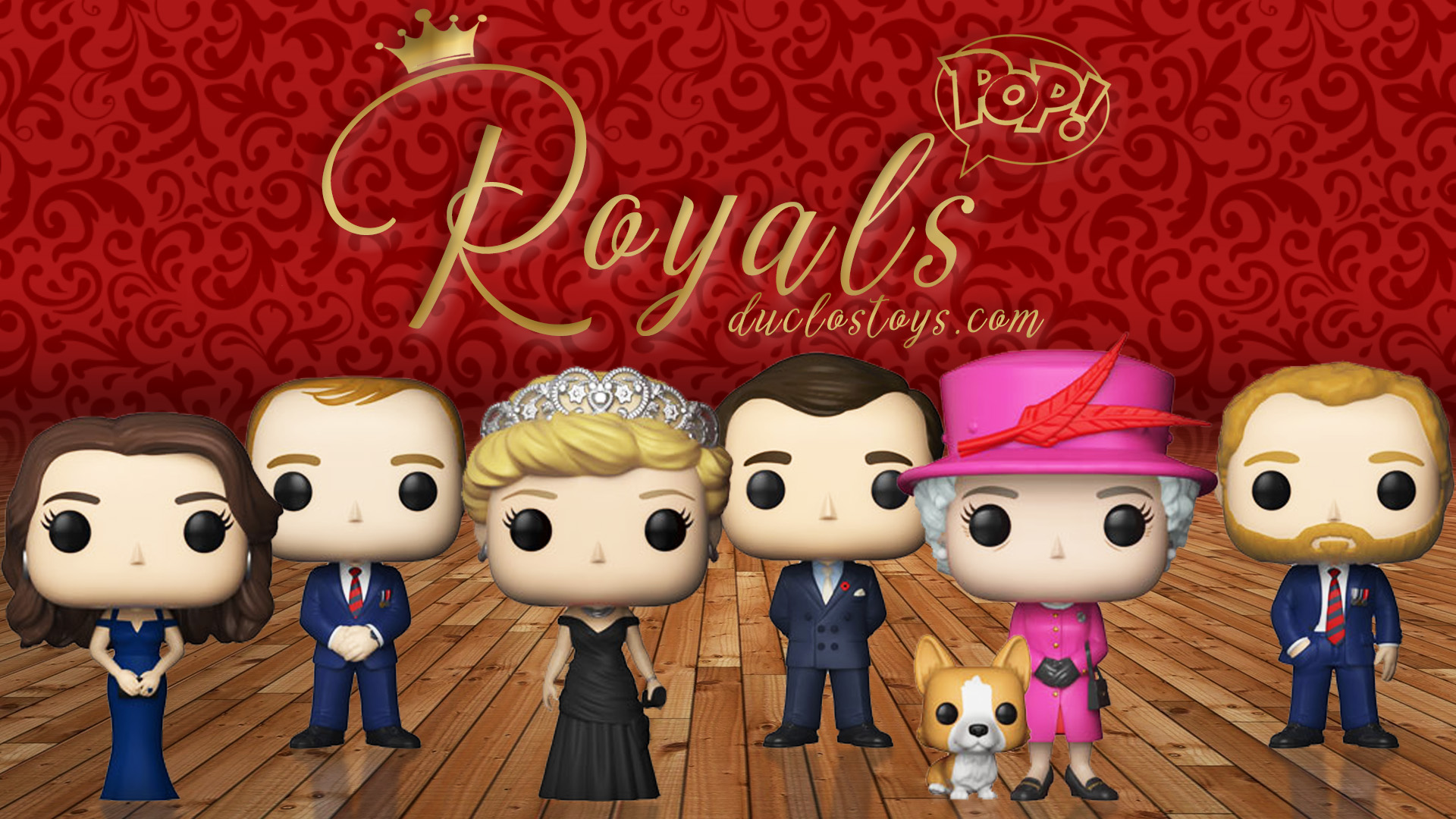 Duclos Toys - Funko Pop Royals - British Royals