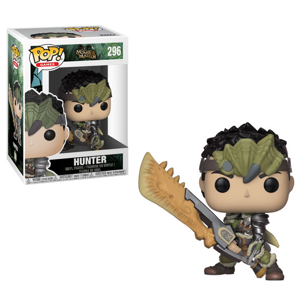 Funko Pop ! Games 296 - Monster Hunter - Hunter