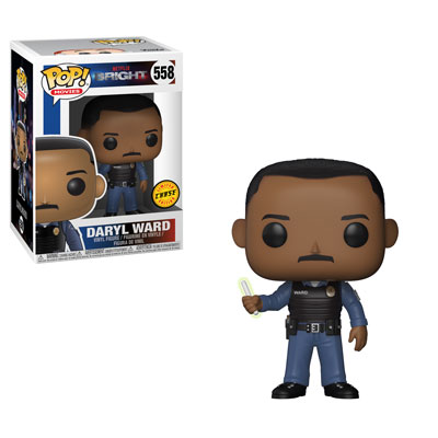 Funko Pop ! Movies 558 - Bright - Daryl Ward (Chase)