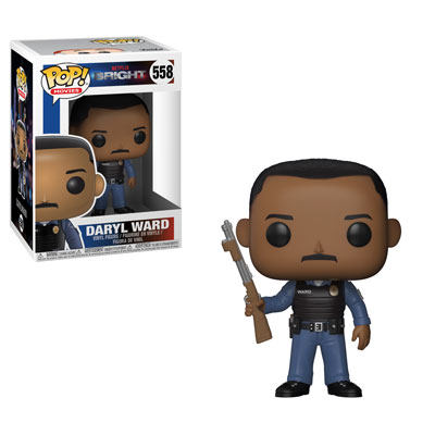 Funko Pop ! Movies 558 - Bright - Daryl Ward