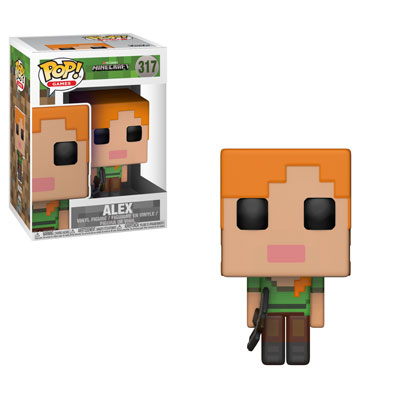 Funko Pop ! Games 317 - Minecraft - Alex