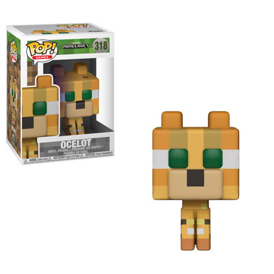 Funko Pop ! Games 318 - Minecraft - Ocelot