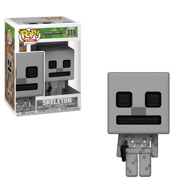 Funko Pop ! Games 319 - Minecraft - Skeleton