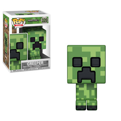 Funko Pop ! Games 320 - Minecraft - Creeper