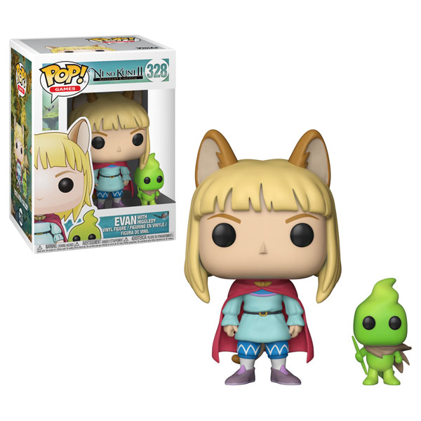 Funko Pop ! Games 328 - Ni No Kuni 2 - Evan with Higgledy