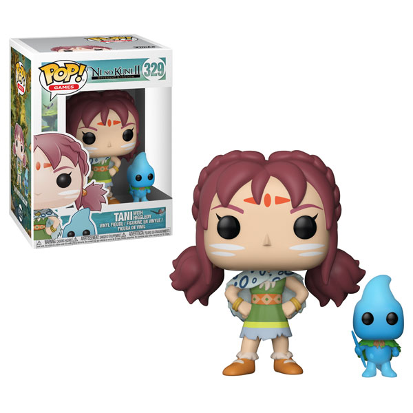 Funko Pop ! Games 329 - Ni No Kuni 2 - Tani with Higgledy