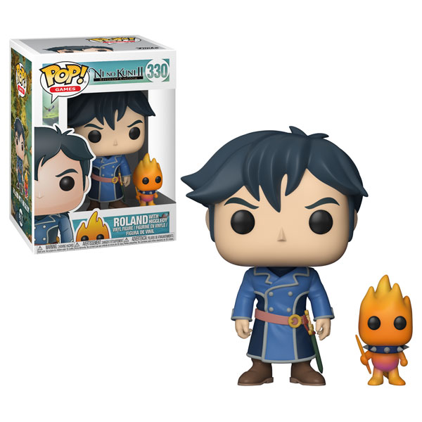 Funko Pop ! Games 330 - Ni No Kuni 2 - Roland with Higgledy