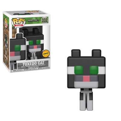 Funko Pop ! Games 332 - Minecraft - Tuxedo Cat (Chase)