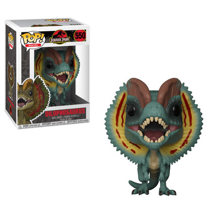 Pop Movies 550 - Jurassic Park - Dilophosaurus