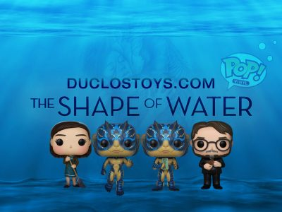 Duclos Toys Funko Pop Movies The Shape Of Water