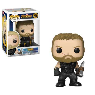 Pop ! Marvel 286 - Avengers- Infinity War - Thor