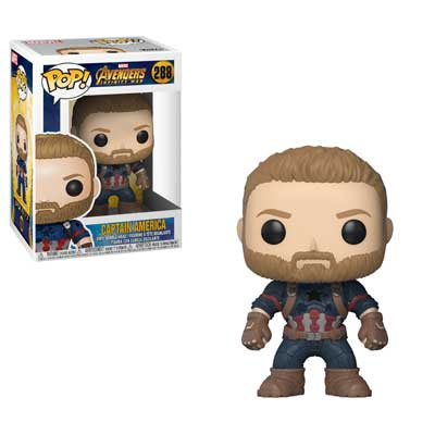 Pop ! Marvel 288 - Avengers- Infinity War - Captain America
