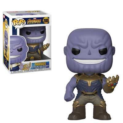 Pop ! Marvel 289 - Avengers- Infinity War - Thanos