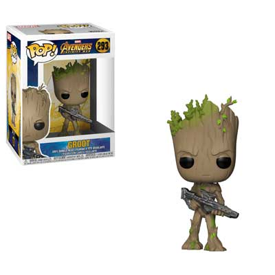 Pop ! Marvel 293 - Avengers- Infinity War - Groot