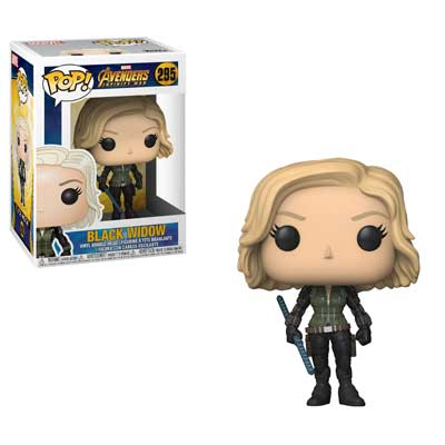 Pop ! Marvel 295 - Avengers- Infinity War - Black Widow
