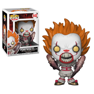 Pop ! Movies 542 - IT - Pennywise With Spider Legs
