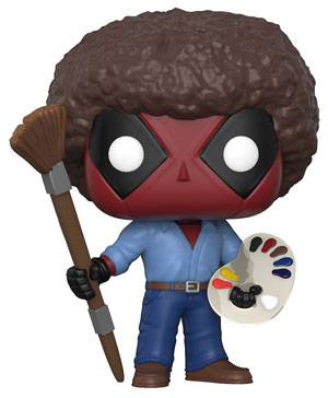 Pop ! Marvel - Deadpool - Deadpool Bob Ross