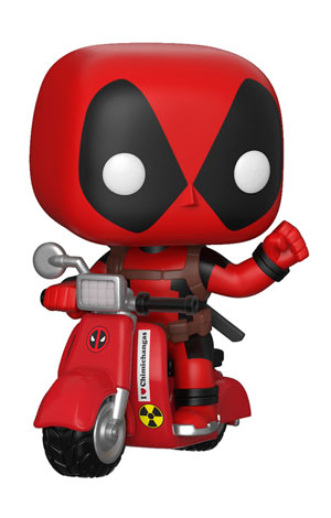 Pop ! Rides - Deadpool - Deadpool and Scooter